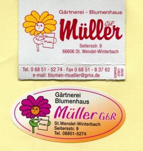 Gärtnerei Blumenhandel Müller, Winterbach