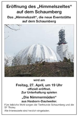 2018-04-27 - Eröffnung Himmelszelt